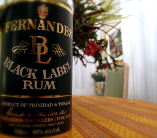 black label rum