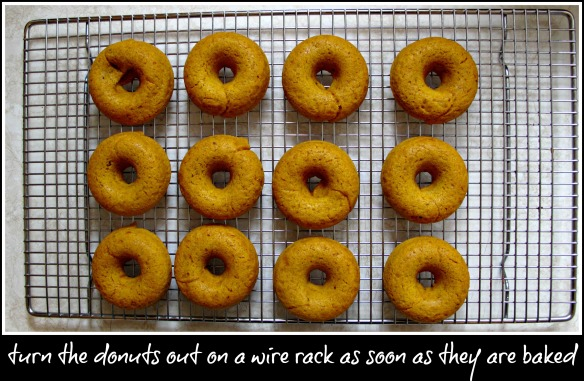 baked donuts cooling 2