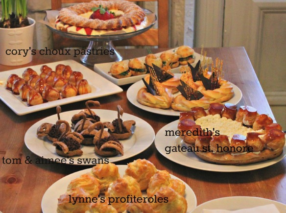 table of choux