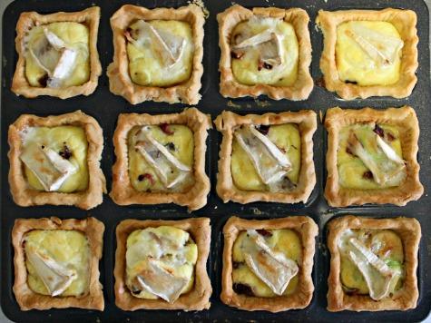 baked tarts!